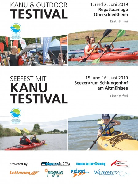 01.06.- 02.06.2019 beim Kanu Testival München / Testevent Lettmann