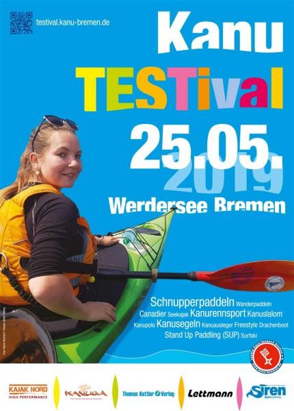 25.05.2019 beim Kanu Testival in Bremen / Testevent Lettmann