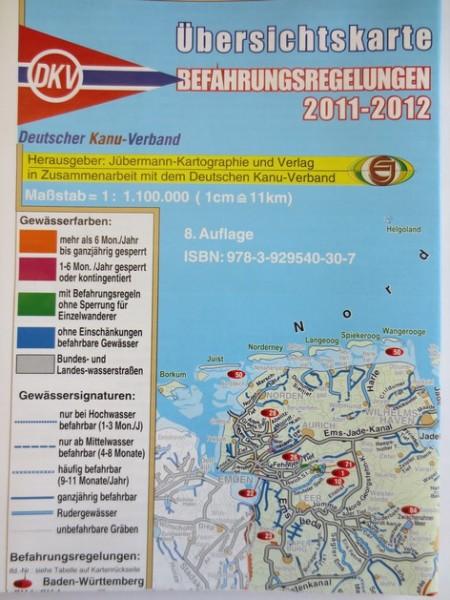 DKV Übersichtskarte Regelungen 2011-12