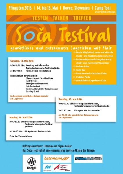 08.06. - 10.06.2019 Soca Event in Slovenien / Testevent Lettmann