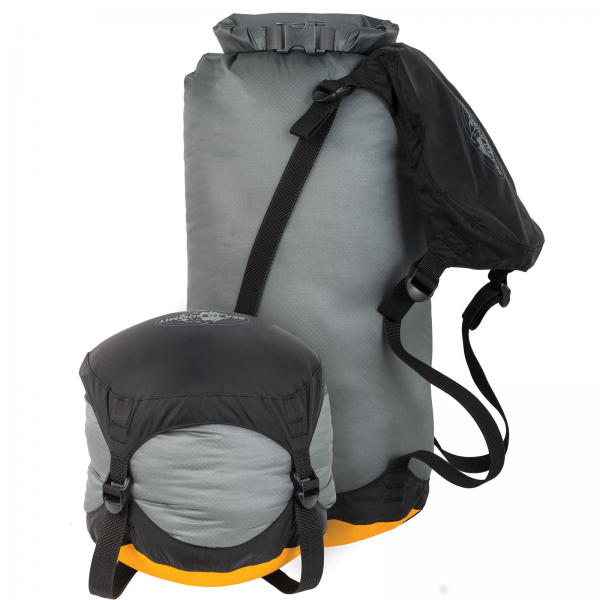 e-Vent Ultra-Sil Compression Dry Sack 20L orange