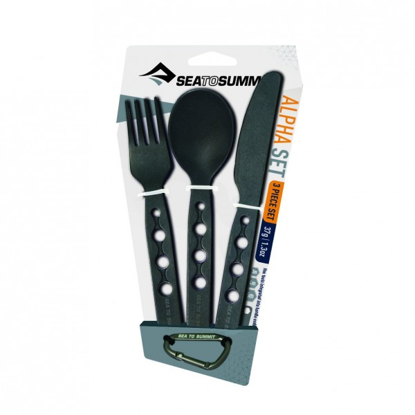 Alphaset Cutlery Set 3-teiliges Besteckset