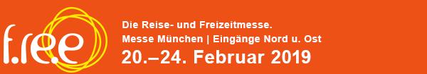 Messe f.re.e in München 20.02.-24-02-2019