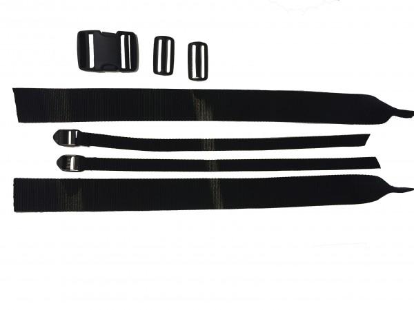 Rückengurt 50mm für Comflex Sitz mit Schnellverschluß