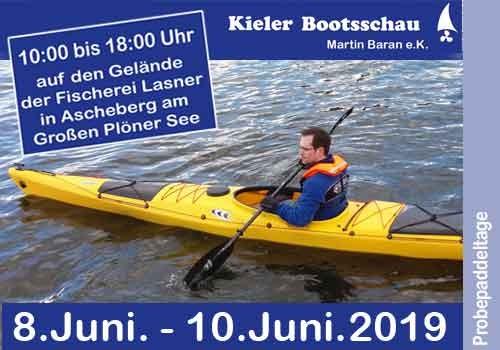 13.07- 14.07.2019 Probepaddeltage Kieler Bootsschau